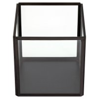 Waitrose Medium Square Black Votive