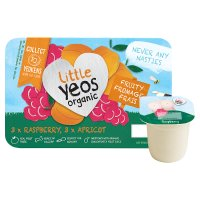 Yeo Valley little yeos raspberry & apricot