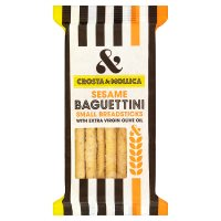 Crosta & Mollica Sesame Baguettini Small Breadsticks