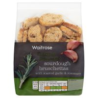 Waitrose sourdough bruschettas