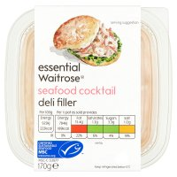essential Waitrose seafood cocktail deli filler