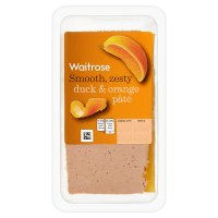 Waitrose duck & orange pâté