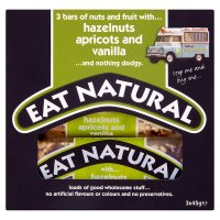 Eat Natural bars hazelnuts, apricots and vanilla