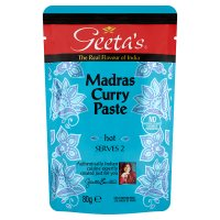 Geeta's madras curry paste