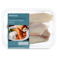Waitrose 2 boneless tilapia fillets