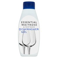 essential Waitrose dishwasher gel