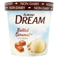 Almond Dream salted caramel non-dairy ice cream