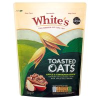 White's Toasted Oats apple & cinnamon crunch