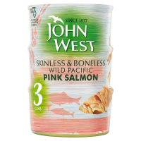 John West Skinless & Boneless Pink Salmon