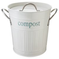 Waitrose Garden Compost Bin Cream