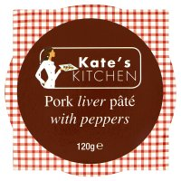 Kate's kitchen pork liver pâté with peppers