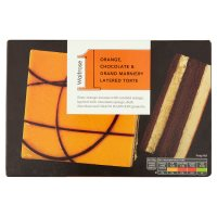Waitrose 1 orange & chocolate layered torte with grand marnier