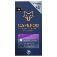 Cafépod intense 10 capsules strength 8