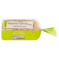 Waitrose LOVE life wholemeal, rye & toasted grain loaf