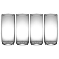 Dartington Crystal 4 pack crystal highball glasses