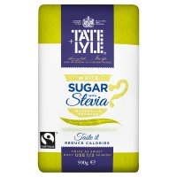 Tate & Lyle white sugar with stevia