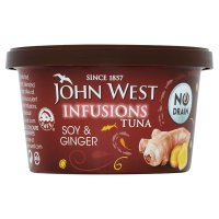 John West infusions soy & ginger tuna
