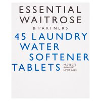 essential Waitrose 45 Laundry Water Softener Tablets