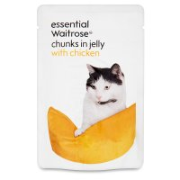 essential Waitrose chunks in jelly with chicken