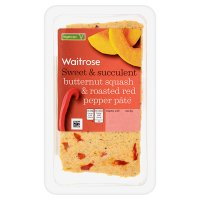 Waitrose butternut squash & roasted red pepper pâté