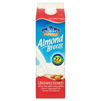 Blue Diamond Almond Breeze fresh unsweetened milk