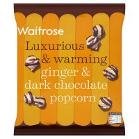 Waitrose Ginger & dark chocolate popcorn