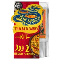 Blue Dragon Thai red curry 3 steps
