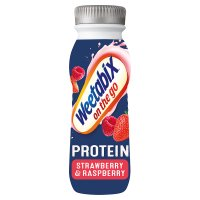 On The Go Protein Strawberry Raspberry