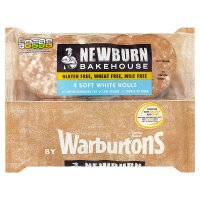 Newburn Bakehouse Soft White Rolls