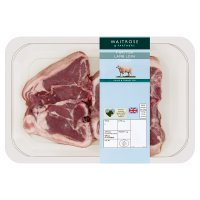 Waitrose 4 hand cut Welsh lamb loin chops