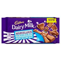 Cadbury Dairy Milk Smashables rocky mallow road chocolate bar