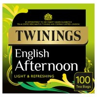 Twinings traditional afternoon 100 tea bags
