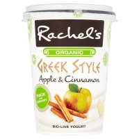 Rachel's Greek Style yogurt apple & cinnamon