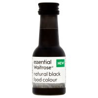 essential Waitrose Black Food Colour