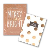 Waitrose Christmas Noel Spot Cards