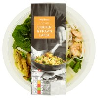 Waitrose Asian chicken & prawn laksa