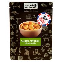 Look what we found! Yorkshire pork sausage casserole