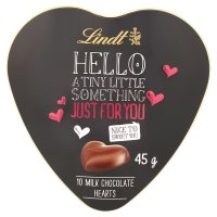 Lindt 10 milk hearts