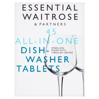 essential Waitrose 45 All in One Dishwasher Tablets