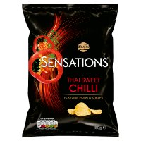 Walkers Sensations Thai sweet chilli sharing crisps