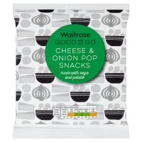 GOOD TO GO Cheese & Onion Pop Snacks