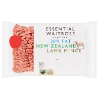 Waitrose essential New Zealand lamb mince