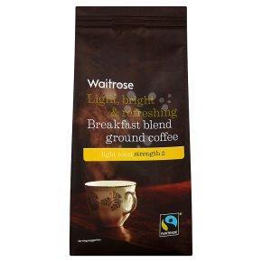 waitrose breakfast blend ground coffee waitrose. Black Bedroom Furniture Sets. Home Design Ideas
