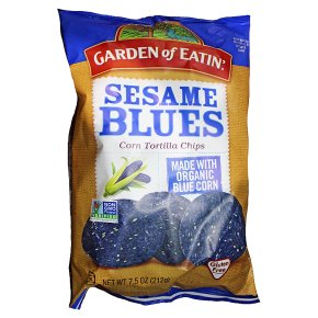 Garden of Eatin sesame blues tortilla chips Waitrose