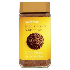 Waitrose gold freeze dried coffee image
