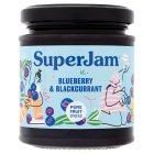 SuperJam blueberry & blackcurrant - 212g