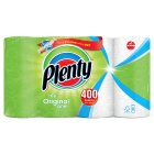 Plenty kitchen towels, white - 8 rolls - 8x50s Brand Price Match - Checked Tesco.com 16/07/2014