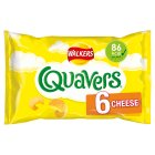 Walkers Quavers cheese multipack crisps - 6s Brand Price Match - Checked Tesco.com 16/07/2014