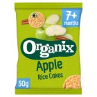 Organix organic apple rice cakes - stage 2 - 50g Brand Price Match - Checked Tesco.com 02/12/2013