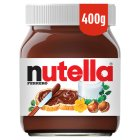 Nutella hazelnut spread - 400g Brand Price Match - Checked Tesco.com 05/03/2014